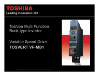 Toshiba MB-1 Drive Technical Info